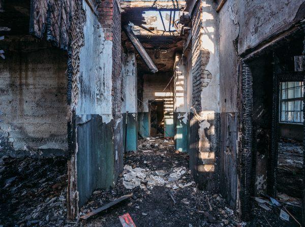 McAlester Fire damage